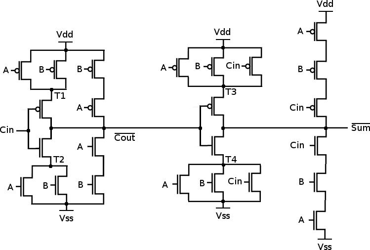 mirroradder Xor Cmos Schematic on xor truth table, xor gate, cmos or schematic, nand cmos schematic,